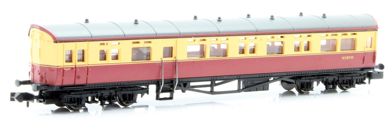 Autocoach BR Carmine & Cream W189W no insignia