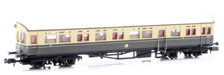 Autocoach GWR Shirtbutton Chocolate & Cream 196