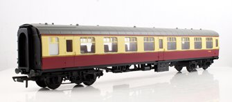 RailRoad BR Mk1 Second Open Coach - BR Carmine & Cream M4363