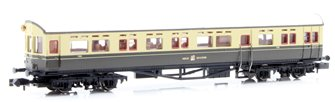 Autocoach GWR Great Crest Western Chocolate & Cream 190