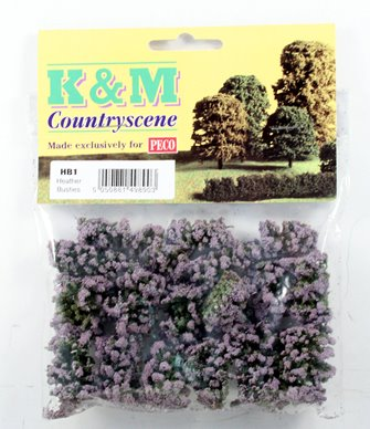 Heather Bushes (Pack of 12)