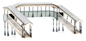 Twin Track Footbridge 112mm x 56mm x 45mm