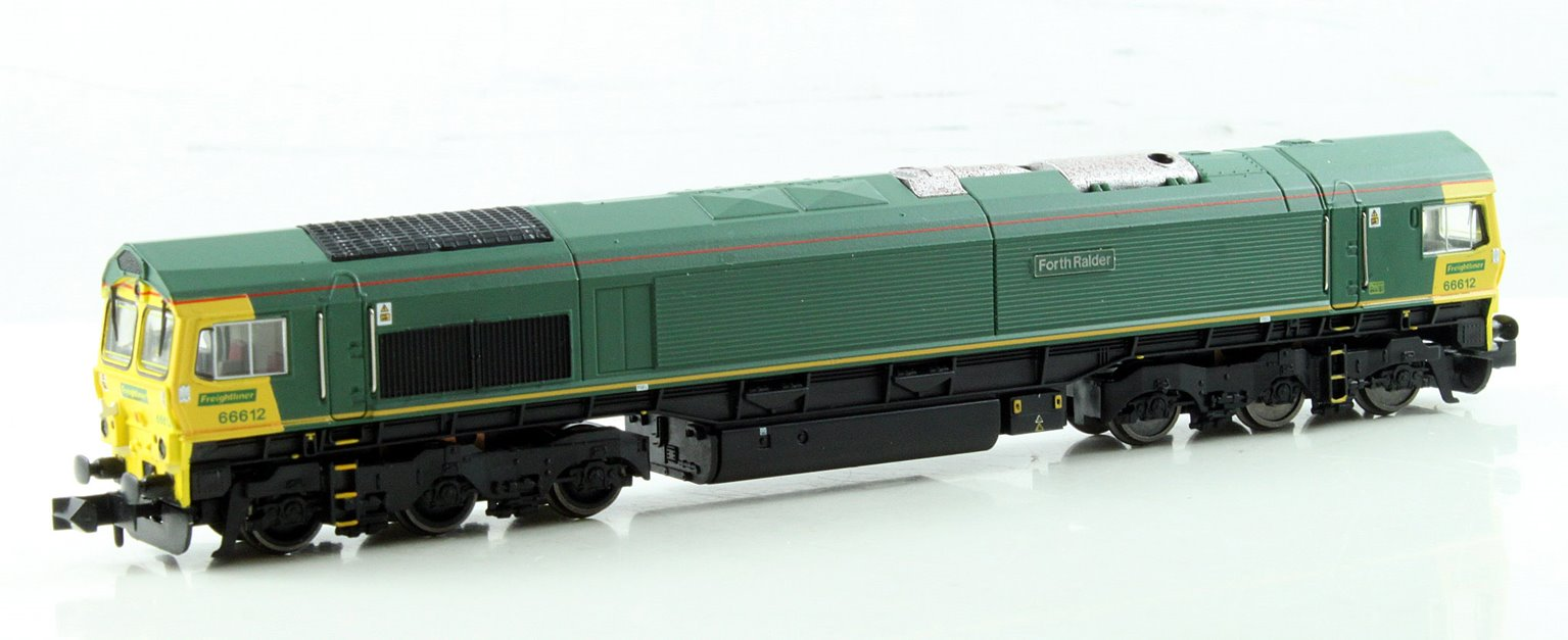Class 66 Unbranded Freightliner Livery 66612