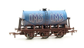 Dapol 4F-031-034 6 Wheel Milk Tank IMS 39 Weathered