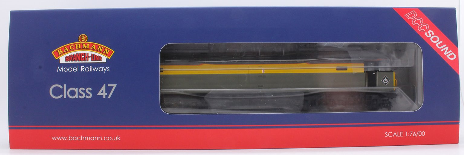 Class 47 346 BR Departmental Dutch Livery Diesel Locomotive DCC SOUND - FREE UK POST