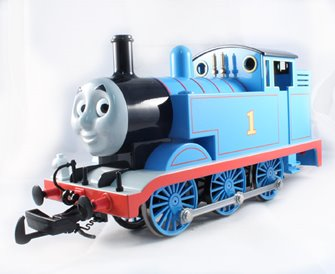 Thomas the tank engine (with moving eyes)