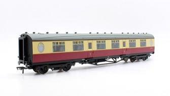 Thompson 1st Class Corridor BR Crimson & Cream E11172E