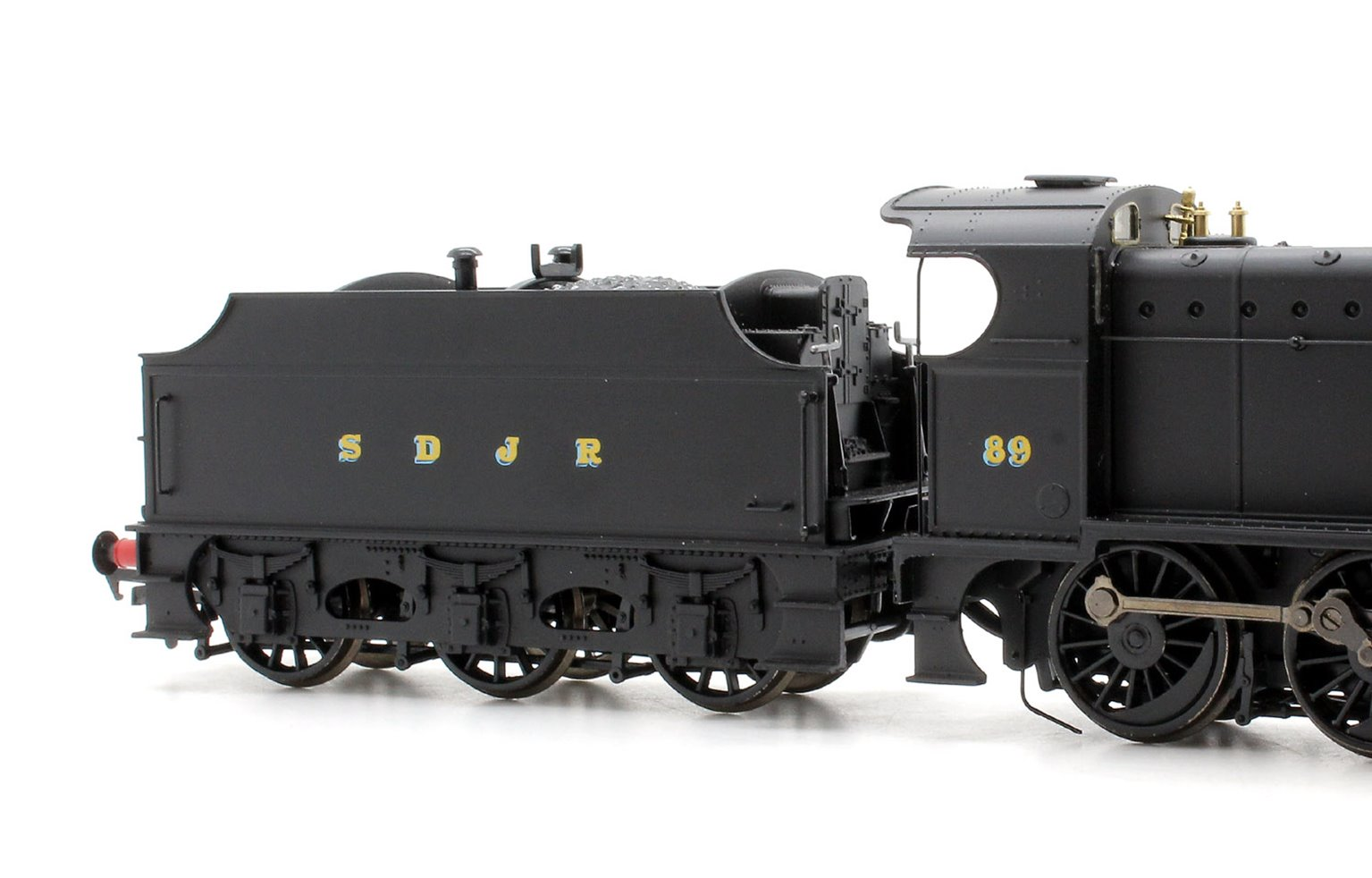 Class 7F S&DJR Plain Black 2-8-0 Locomotive #89