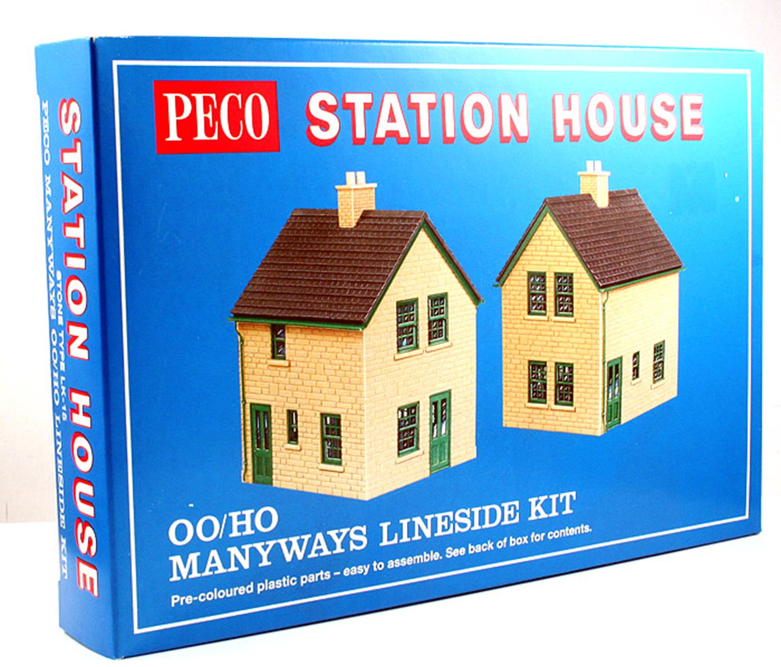 Lineside Kit - Station Houses, stone type