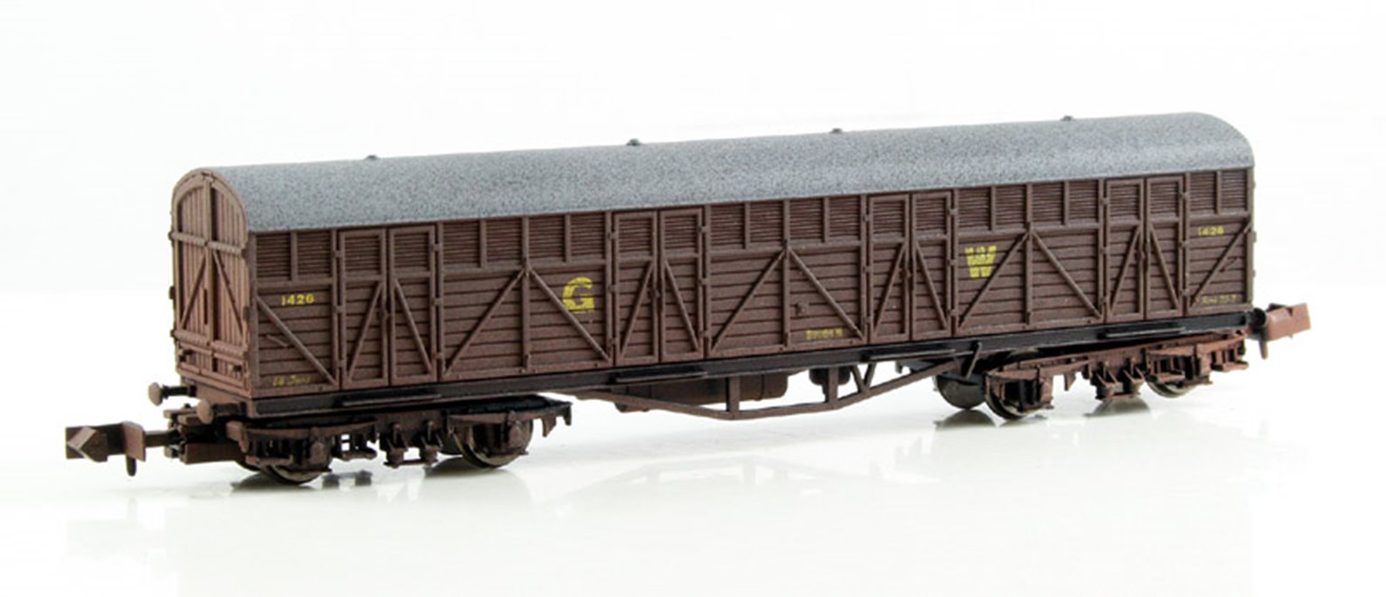 GWR Siphon H Van 1426 (Weathered edition)