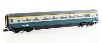 Blue & Grey Mk3 1st Class Coach #11028 Loco Hauled