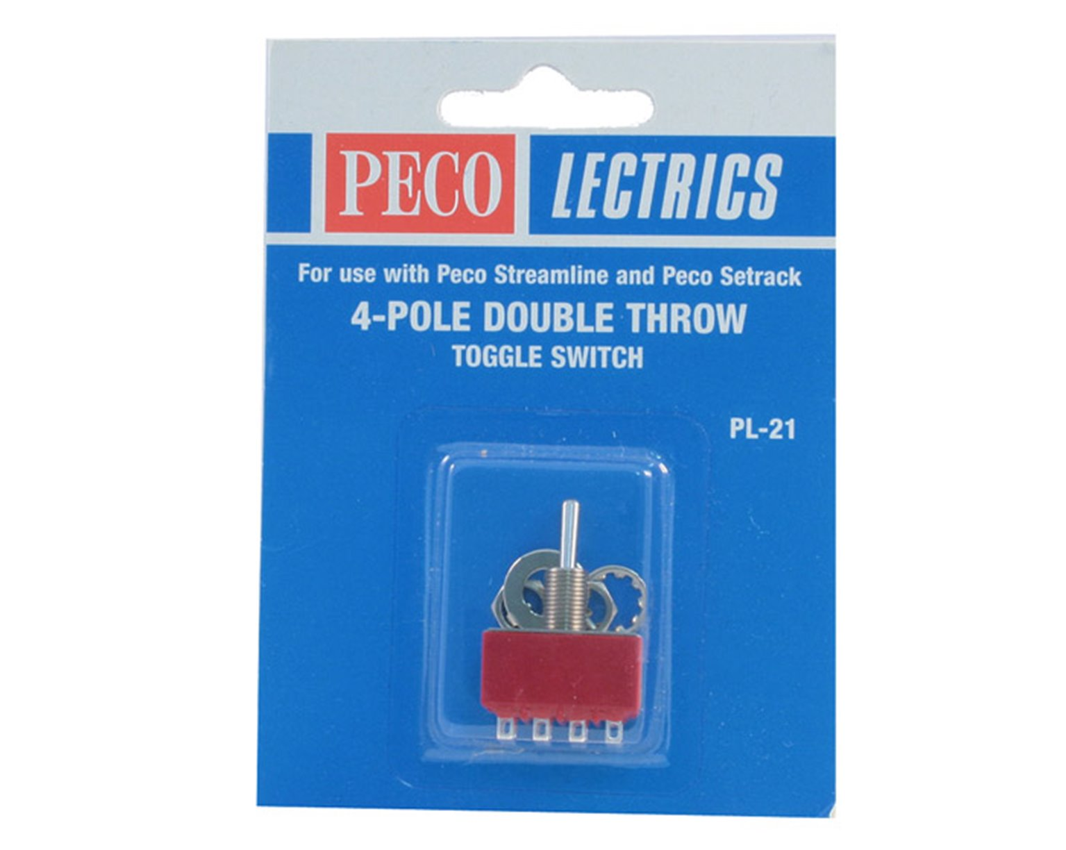 PL21 4 Pole Double Throw Toggle Switch
