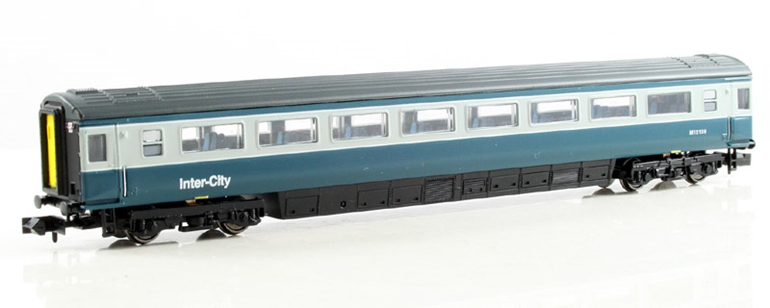Blue & Grey Mk3 2nd Class Coach #12109 Loco Hauled