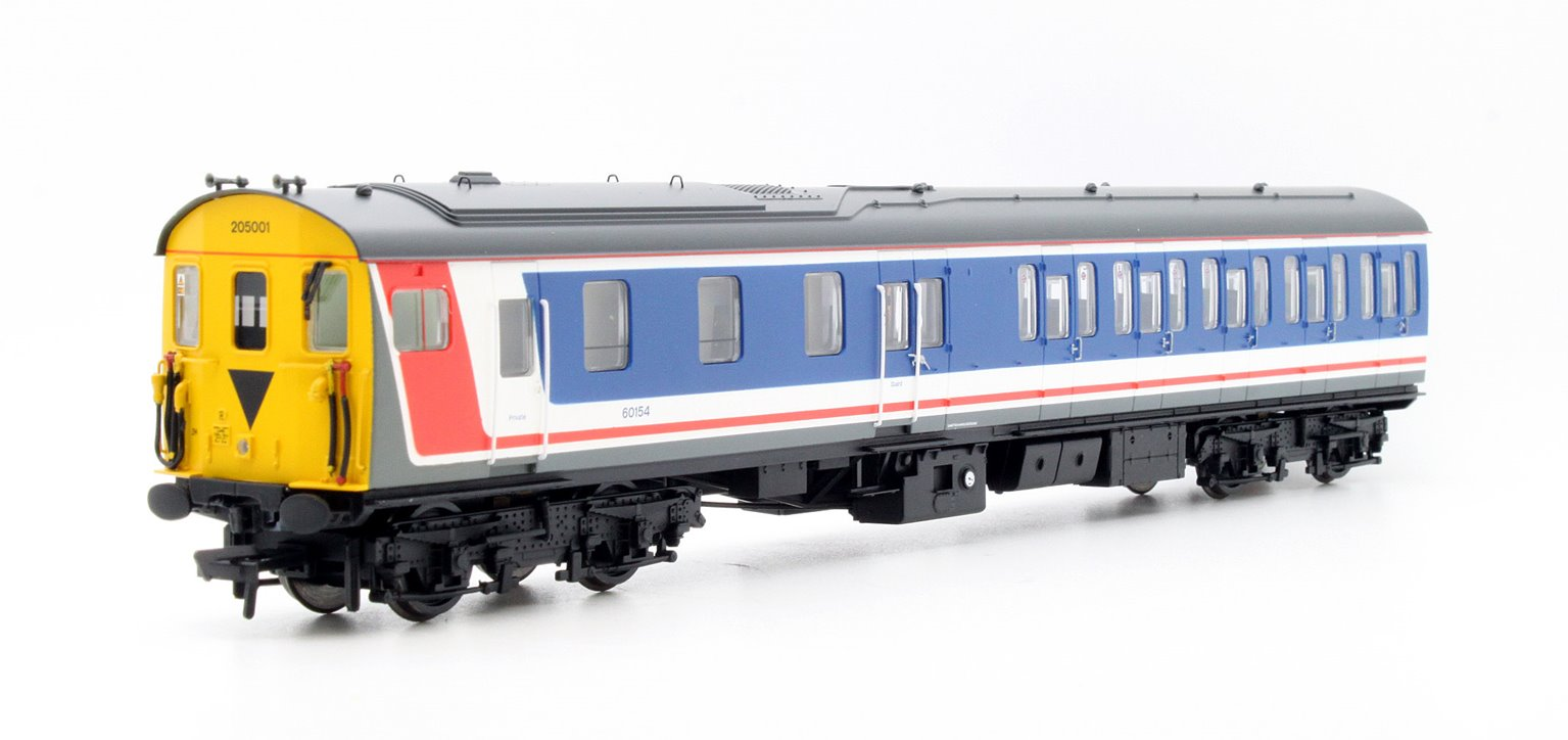 Class 205 A2-H Thumper Network South East Two Car DEMU