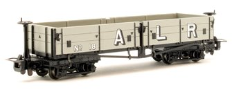 Open Bogie Wagon Ashover Railway Light Grey (Early) livery