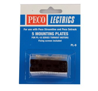 PL9 5 Mounting Plates for use with PL10