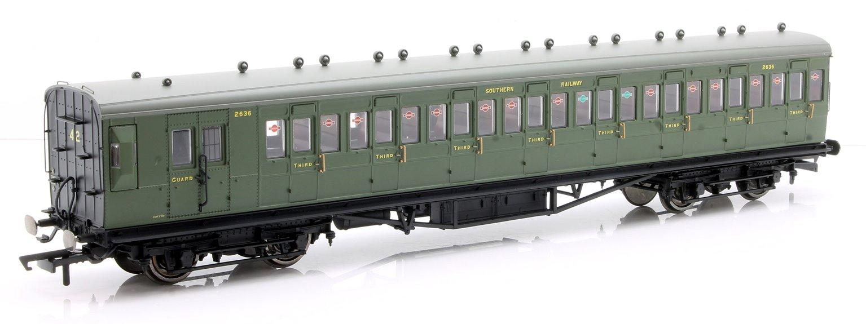 SR, 58' Maunsell Rebuilt (Ex-LSWR 48'), Eight Compartment Brake Third, 2636 'Set 42'