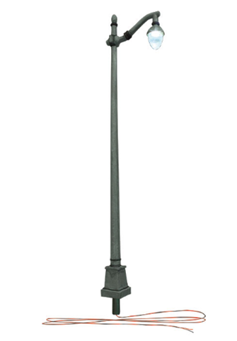 Arched Cast Iron Street Lights - N Scale