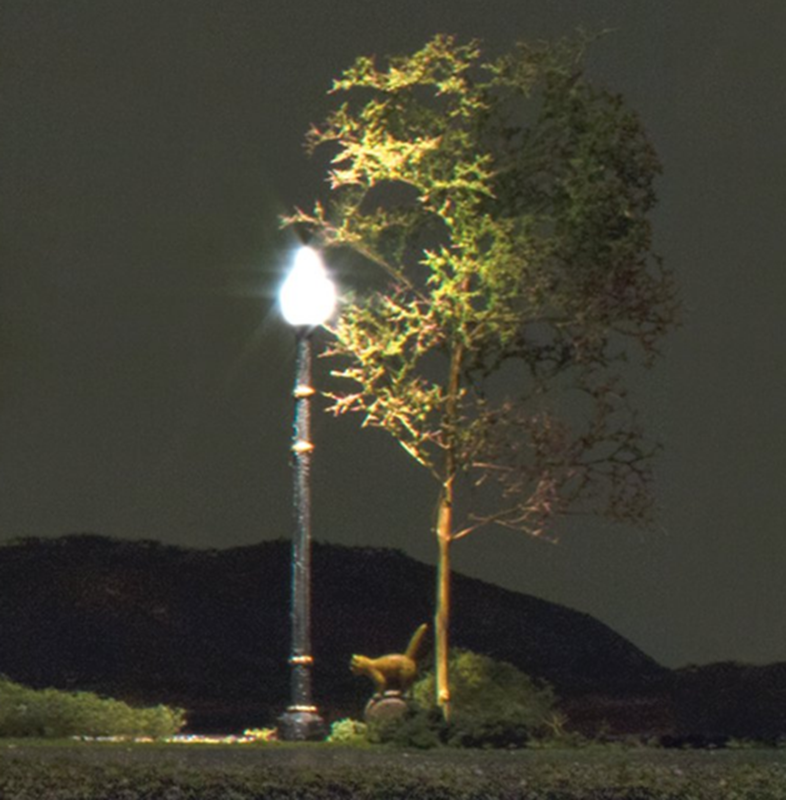 Lamp Post Street Lights - N Scale