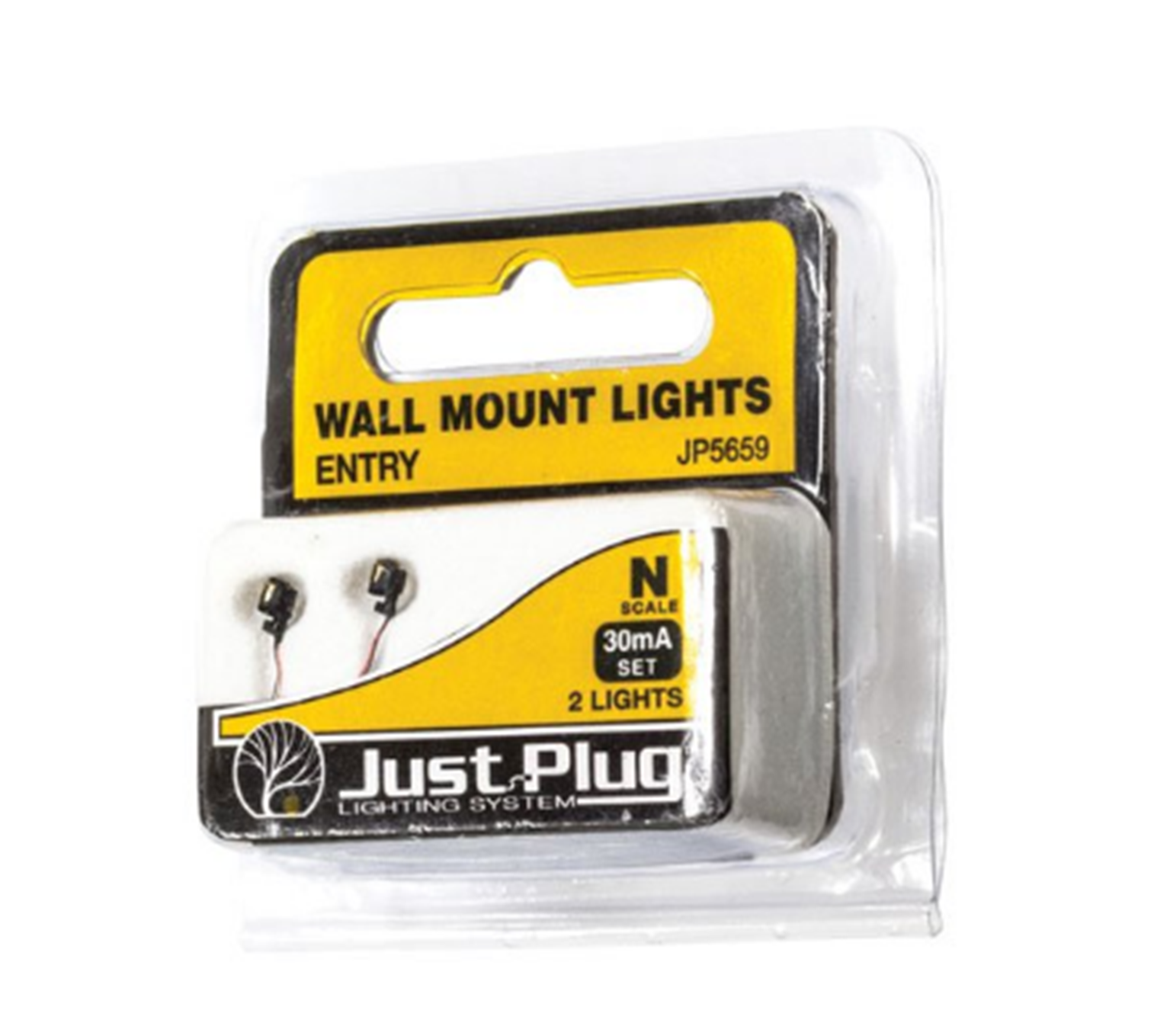 Entry Wall Mount Lights - N Scale