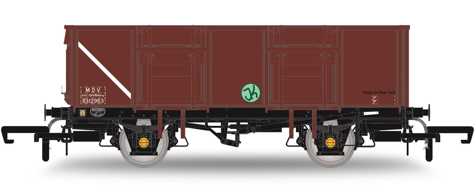 Jenny Monday Club Exclusive BR Bauxite MDV Coal Wagon B312963