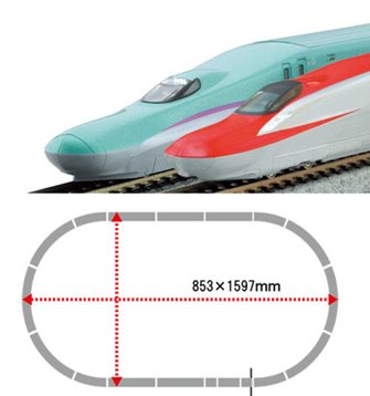 JR E5/E6 Shinkansen Double Track Starter Set