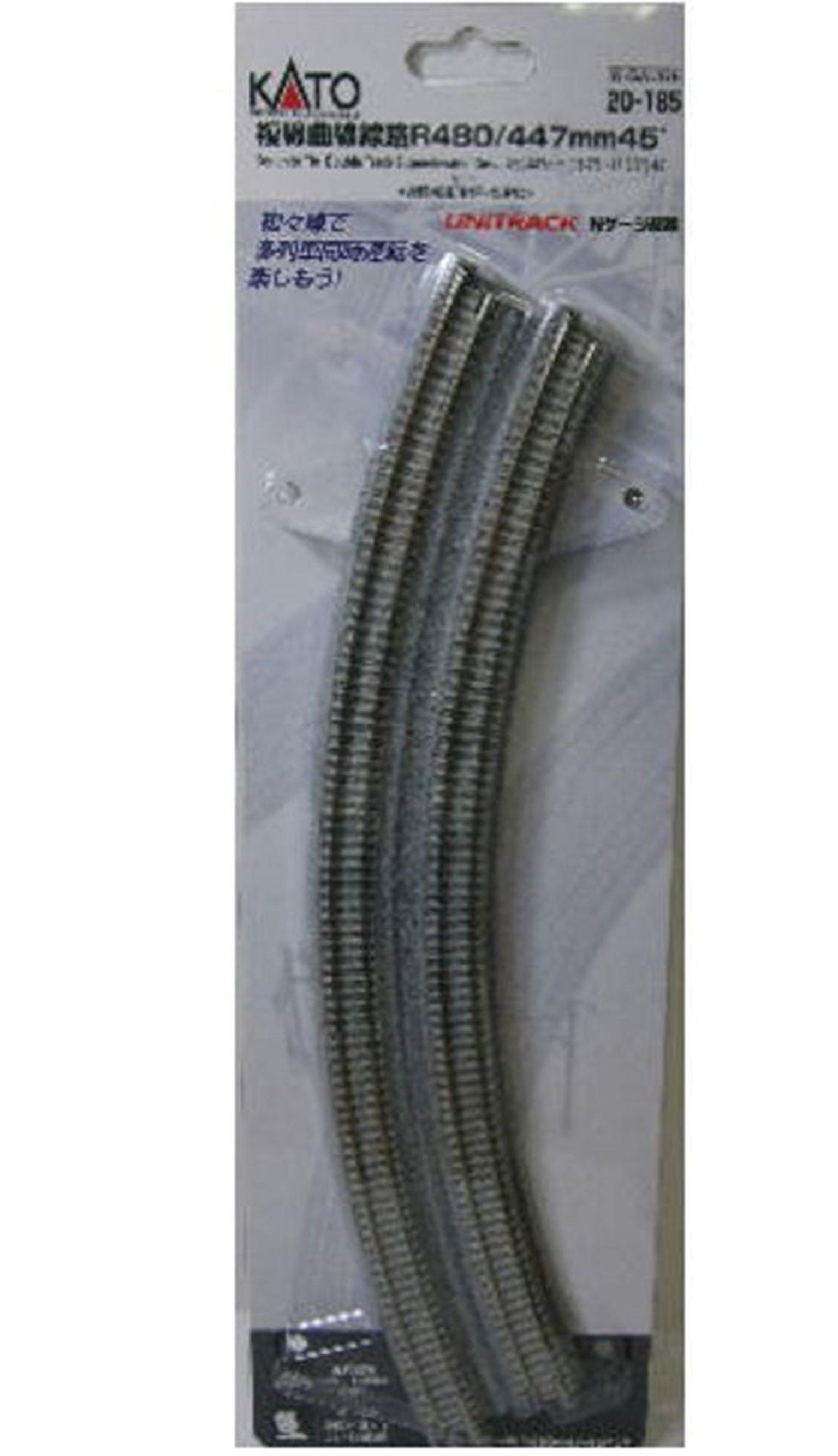 Kato 20-185 R480/447 Double Curve Track
