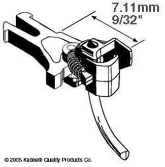 NEM362 European Coupler Short 7.11mm (2pr)
