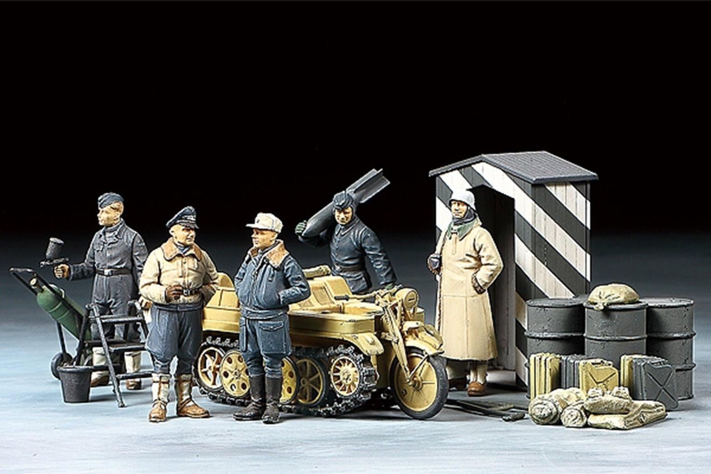 1/48 Luftwaffe & Kettenkraftrad Set