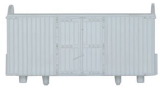 Refrigerator type Box Van Wagon Kit