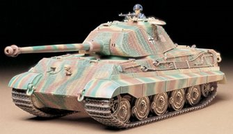 "1/35 Military Miniature Series No.169 German King Tiger ""Porsche Turret"""