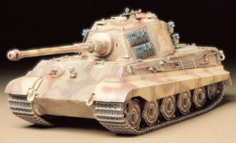 "1/35 Military Miniature Series No.164 German King Tiger ""Production Turret"""