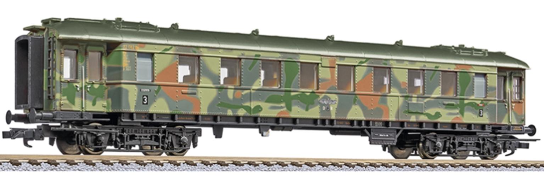 Liliput HO 4 Car Set 'Military Troop Transport' camouflage