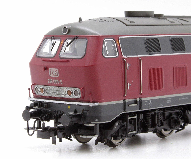 DB Class 219 001-5 Ep.IV Maroon Diesel Locomotive
