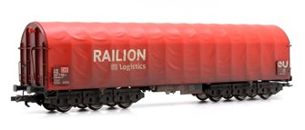 DB Logistics 'Railion' Steel Transport Wagon (Weathered)