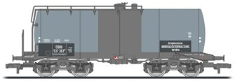 4-axle tank wagon, period IV, DR, 630 hl tank