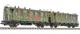 2 Car Set Short Coaches (2nd and 3rd Class) Ep.II Camouflaged