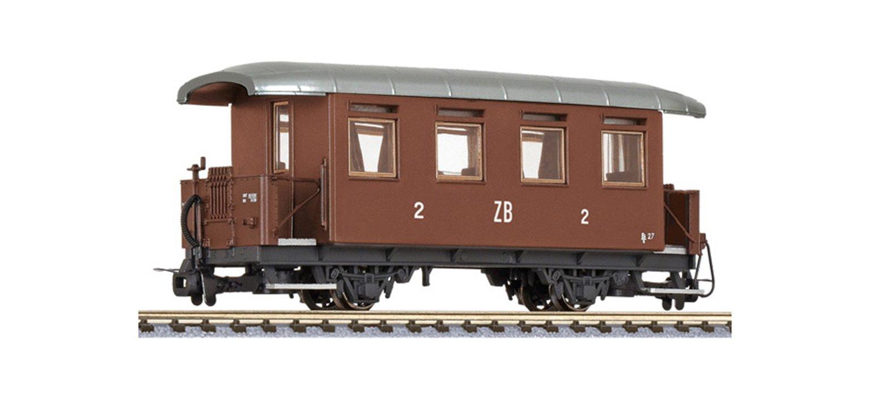 2-axle coach, B27, Zillertalbahn, Ep.III