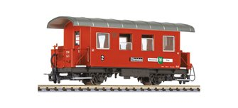 """2-axle coach, B 25, WC wagon, """"Gemeinde Tux"""", Zillertalbahn, Ep.VI"""