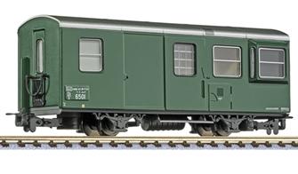 2-axle maintenance car D/s 6501, green
