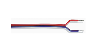 Blue/Red 2-Wire Cable - 20 metres