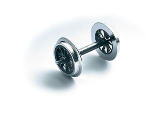 Spoke Wheel Sets, Metal - 2 pieces