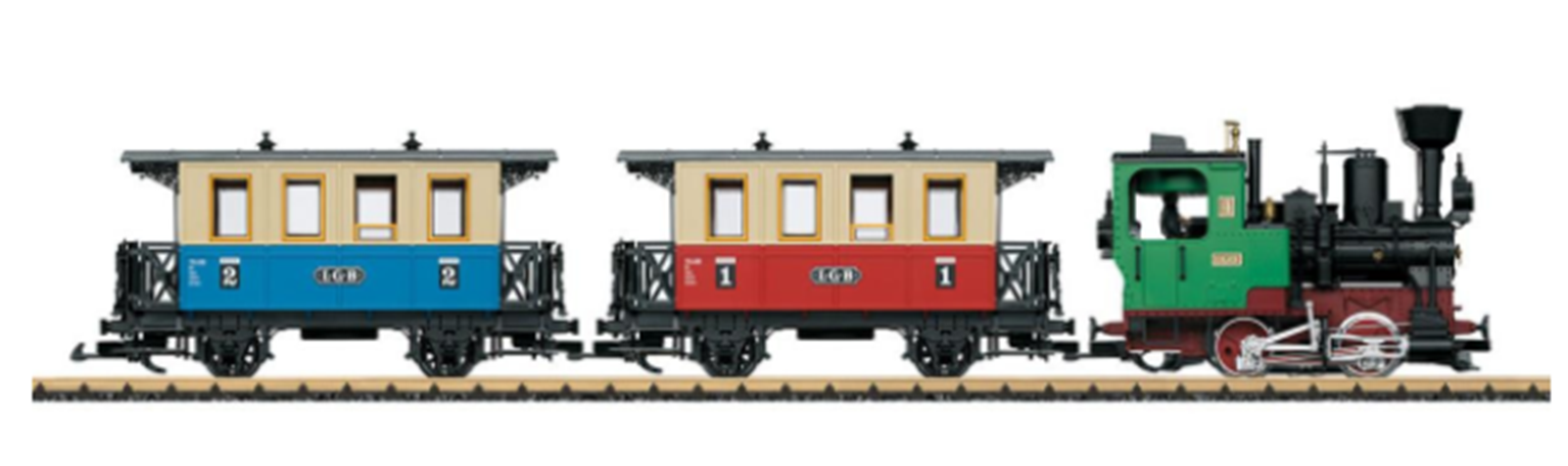 LGB PASSENGER TRAIN STARTER SET