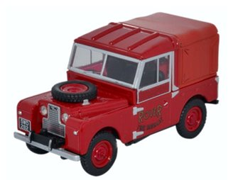 "Land Rover Series 1 88"" Hard Top Rover Fire Brigade"