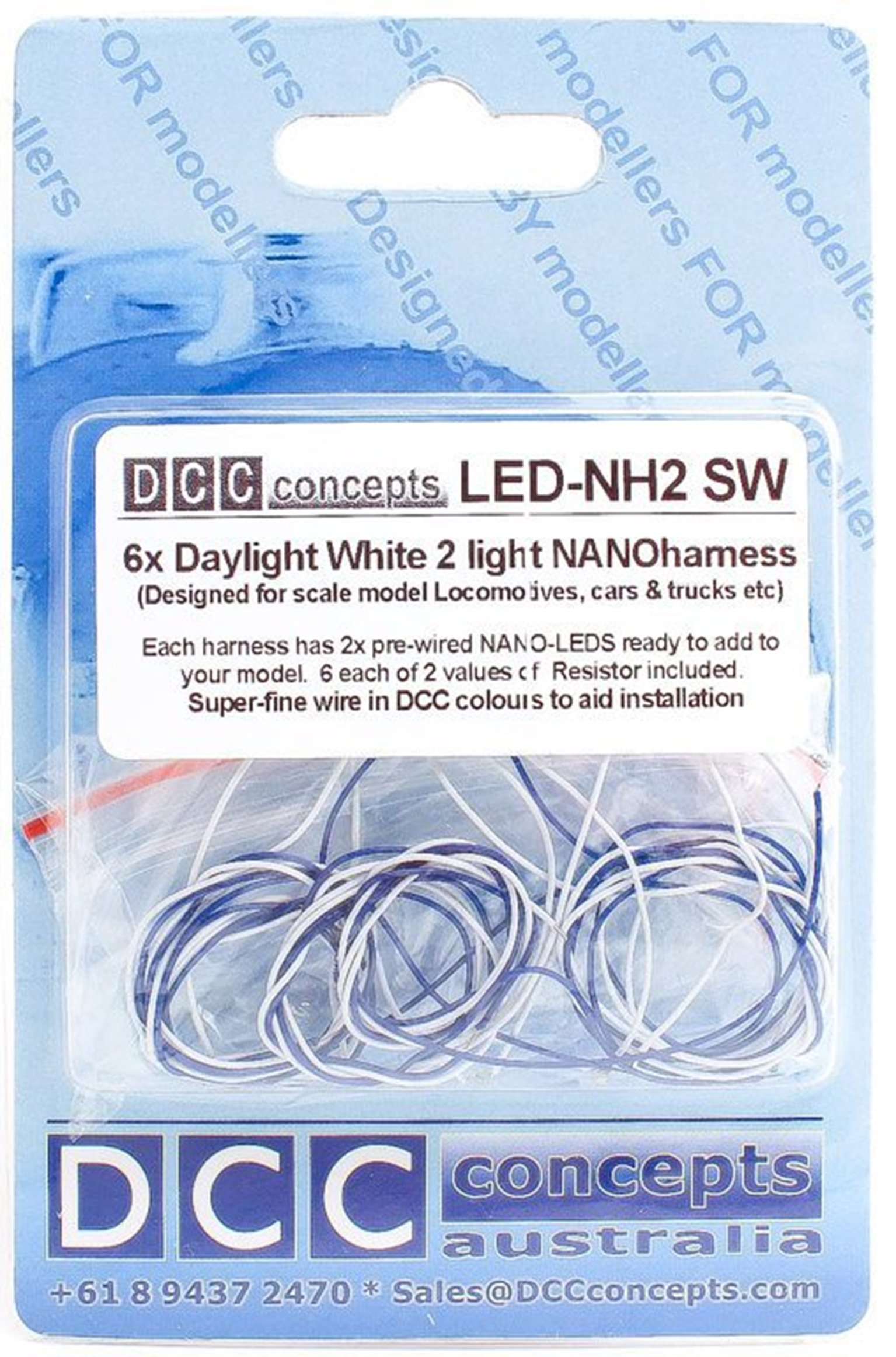 NANO Harness  6x 2 (2-Light)  Daylight White