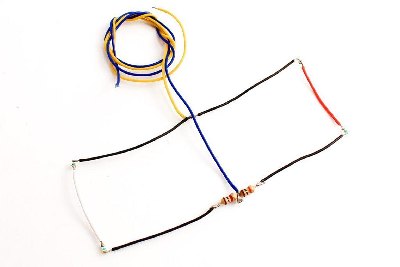 NANO Harness  4x 4 (2 Red, 2 White)  Large