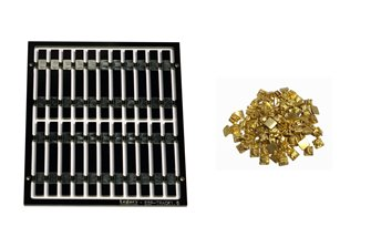 Legacy Models – 20x Pre-Etched Sleepers 1.6mm (4mm scale) + 20 Brass Chairs
