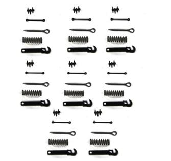 Smiths Mk2 Screw Link Coupling Kit Brass (8)