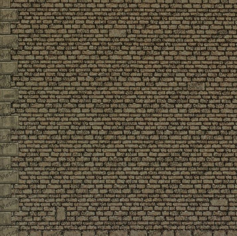 M0058 00/H0 Semi Cut Stonework B1 Style