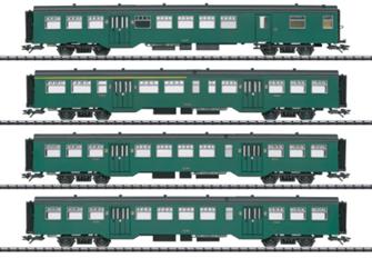 SNCB/NMBS M2 Coach Set (4) III